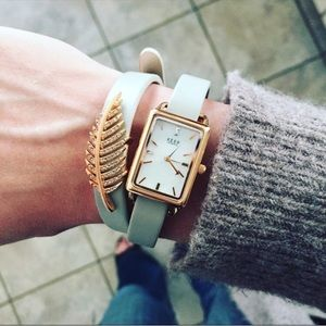 Boho Keep Collective Rose Gold Wrap Watch